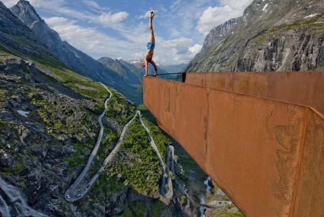 Acrobatie stanca Eskil platforma