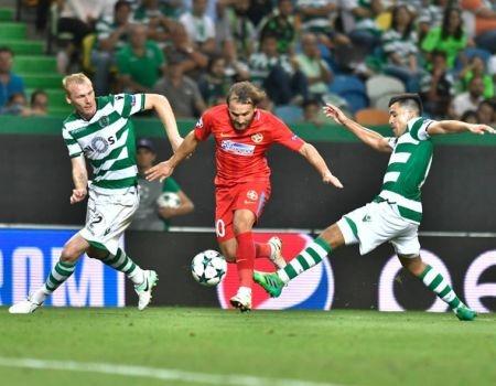 Un jucator al lui Sporting Lisabona, indignat de jocul practicat de FCSB