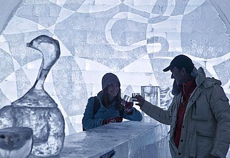 Atractii turistice de iarna impresionante, din strainatate (Galerie foto)