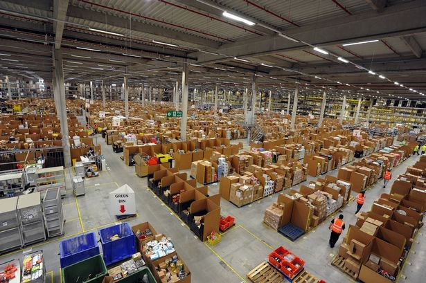 Amazon To Build Distribution Warehouses In New Jersey