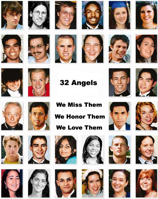 the virginia tech massacre Virginia tech massacrecom is a permanent nonprofit project carecom website which honors the wonderful angels we lost on april 16, 2007 helps those who survived and educates the public about the tragedy.