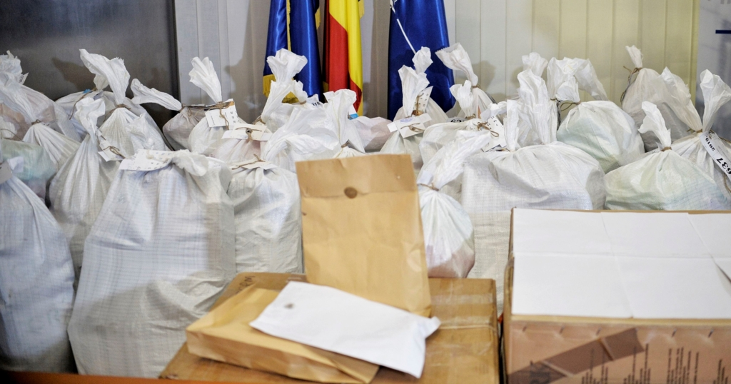 Captura record in Republica Moldova: 235 kilograme de heroina adusa prin intermediul soferilor de TIR